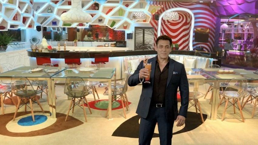 Salman Khan at Press Conference of Big Boss 14 Photos