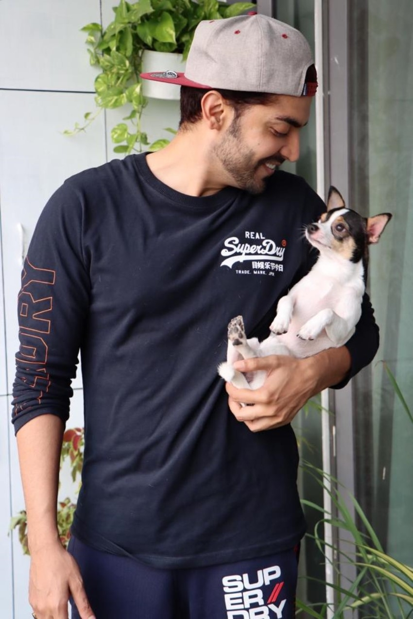 Gurmeet Choudhary shares adorable pictures with his pet friend Pablo Photos