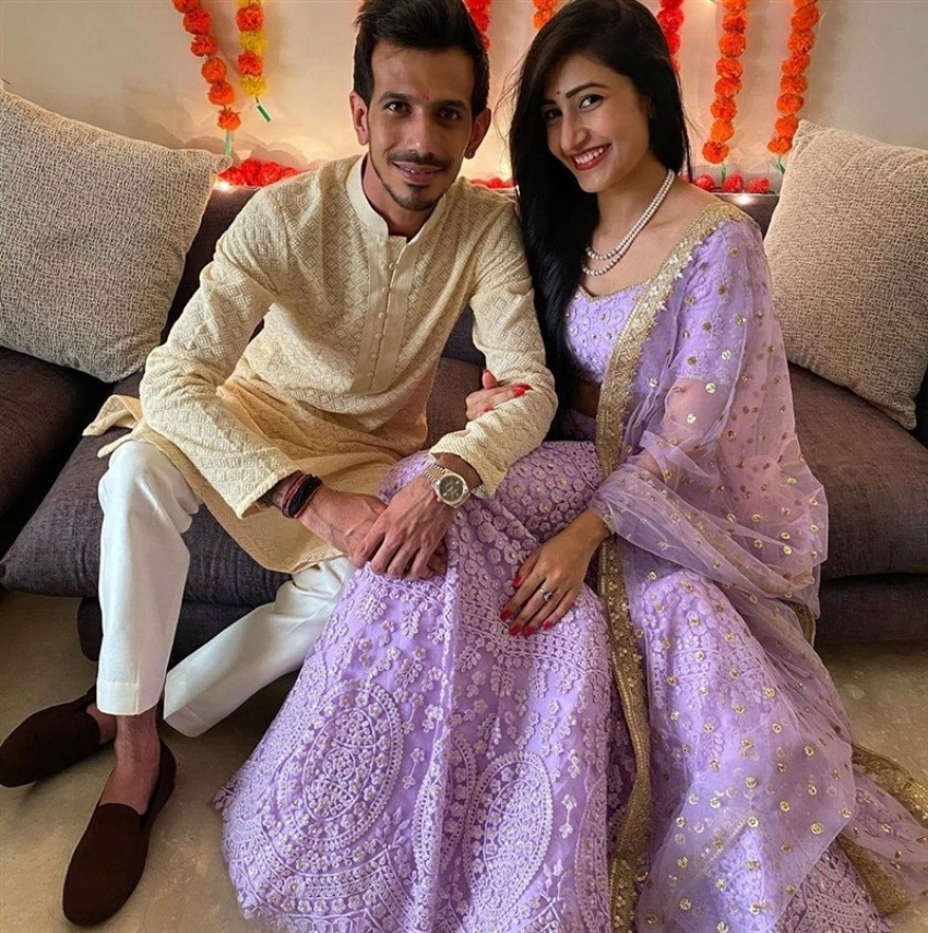 Indian Cricket Bowler Yuzvendra Chahal Wife Dhanashree Verma Viral Photos