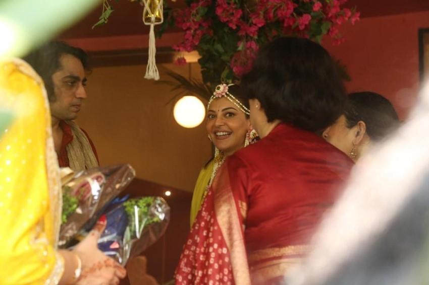 Kajal Agarwal Pre-Wedding Party Photos