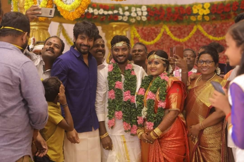 Remo And Sultan Movie Director BaKkiyaraj Kannan Wedding Photos