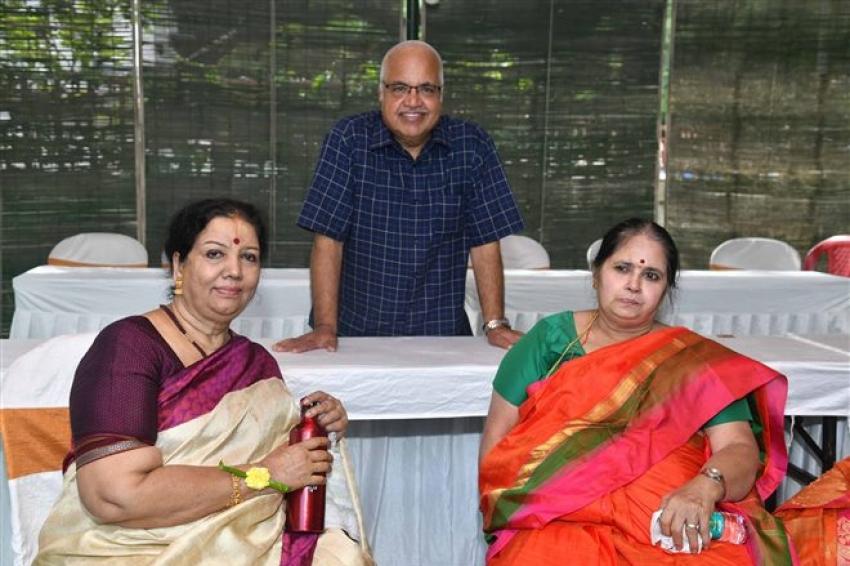 Meghana Raj & Chiru Sarja Son Thotilu Shastra Photos