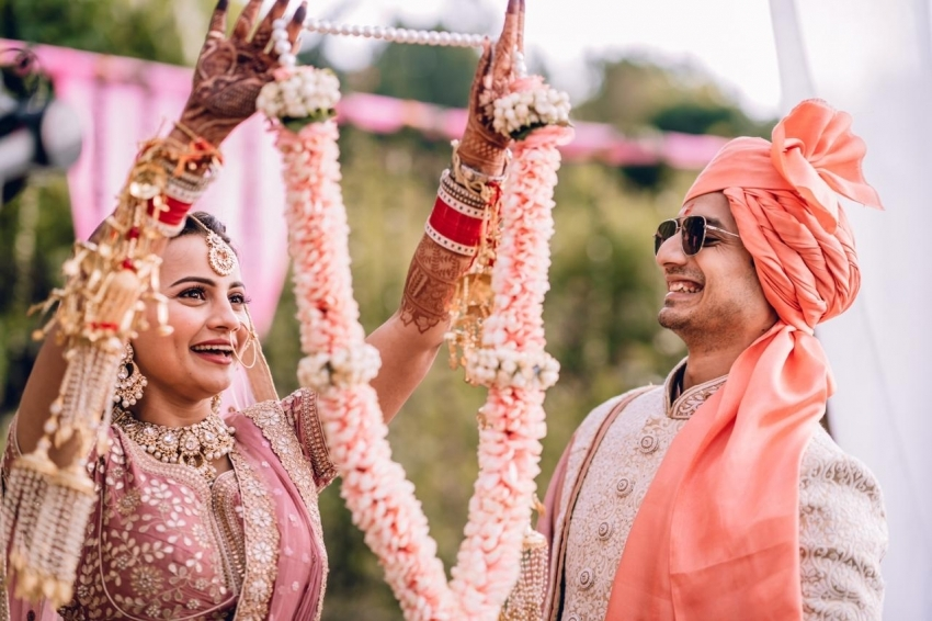 Priyanshu Painyuli and Vandana Joshi  Wedding Photos
