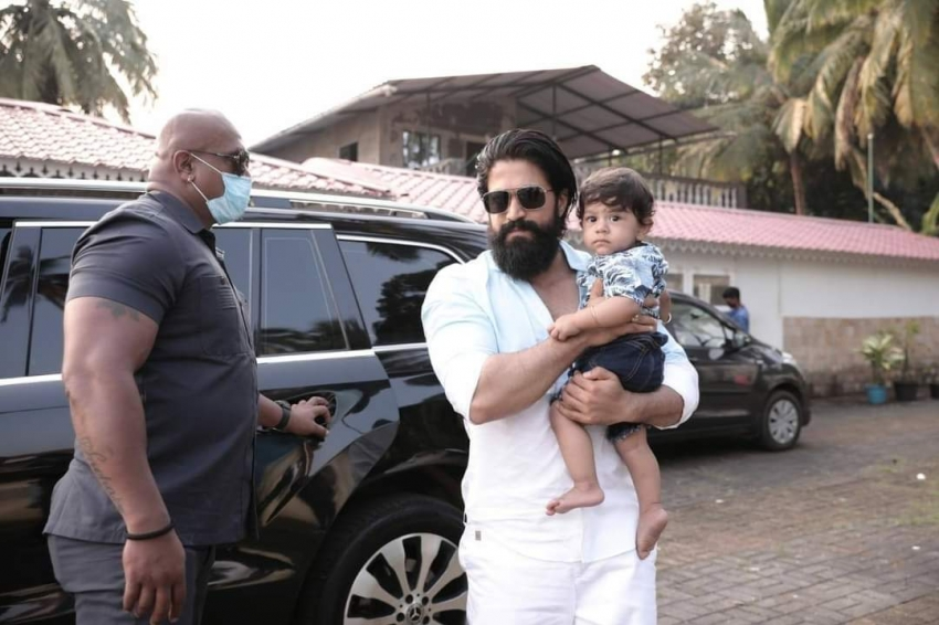Yash son Yathrava 1st birthday Celebration In Goa Photos