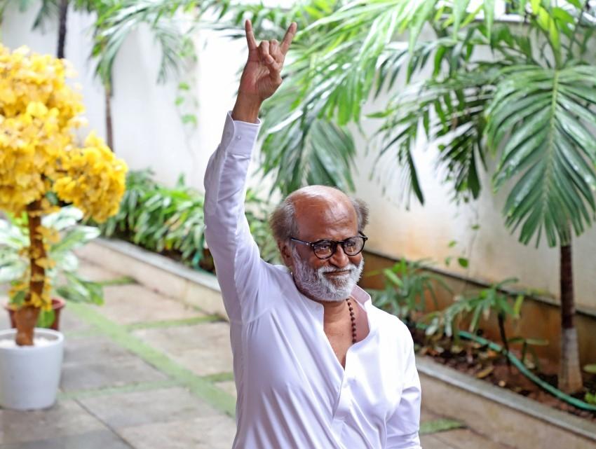 Rajinikanth To Launch Political Party Photos