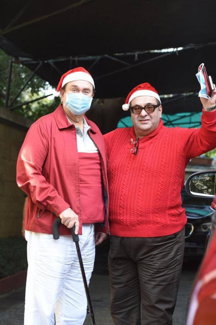 Indian Celebs Celebrate Christmas 2020 Photos