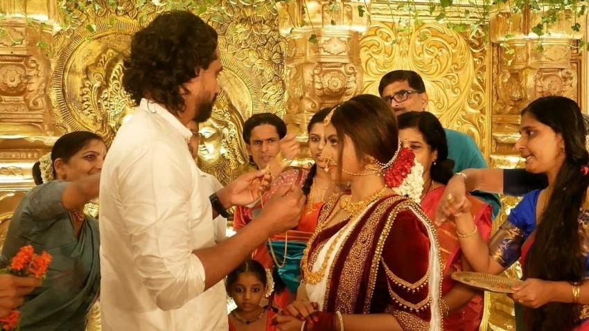 Athmiya Rajan Wedding Photos