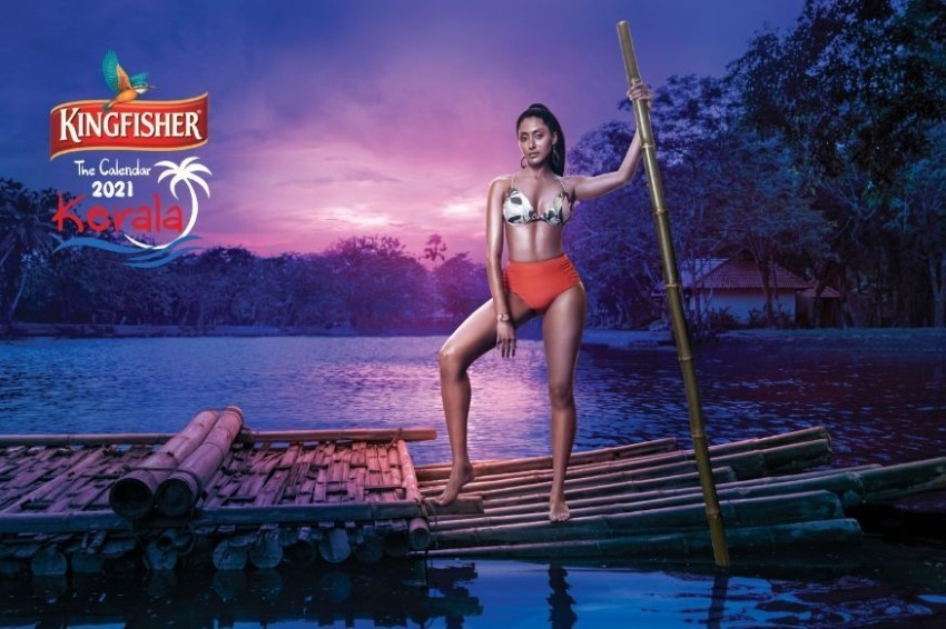 Kingfisher Calendar 2021 Superhot Model Photos