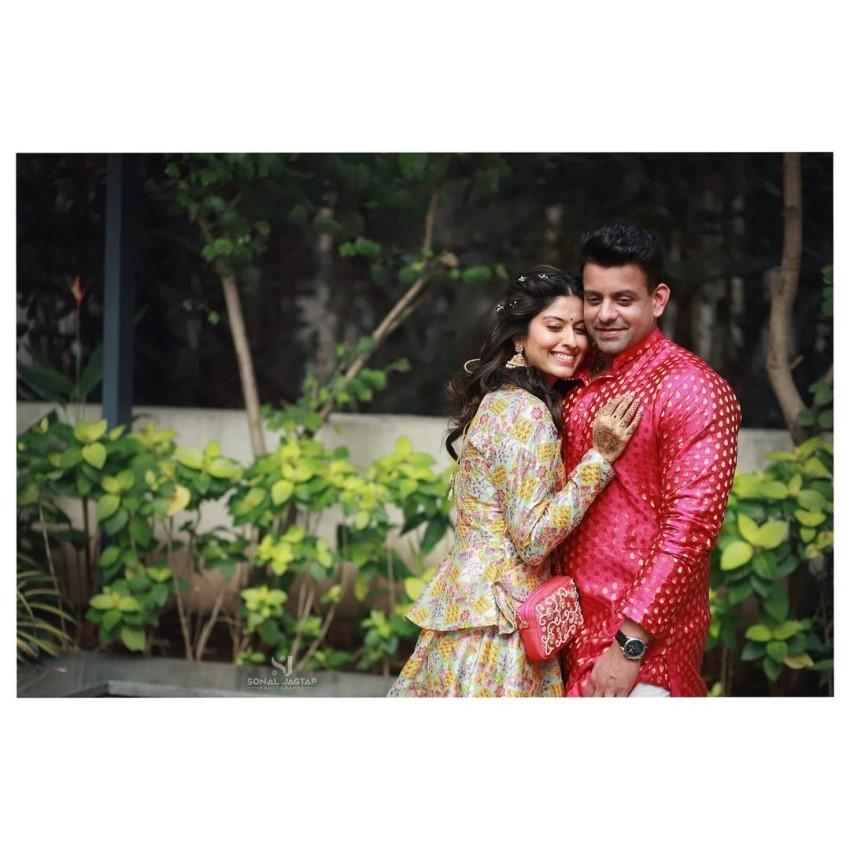 Marathi Actress Abhidnya Bhave and Mehul Pai Wedding Photos