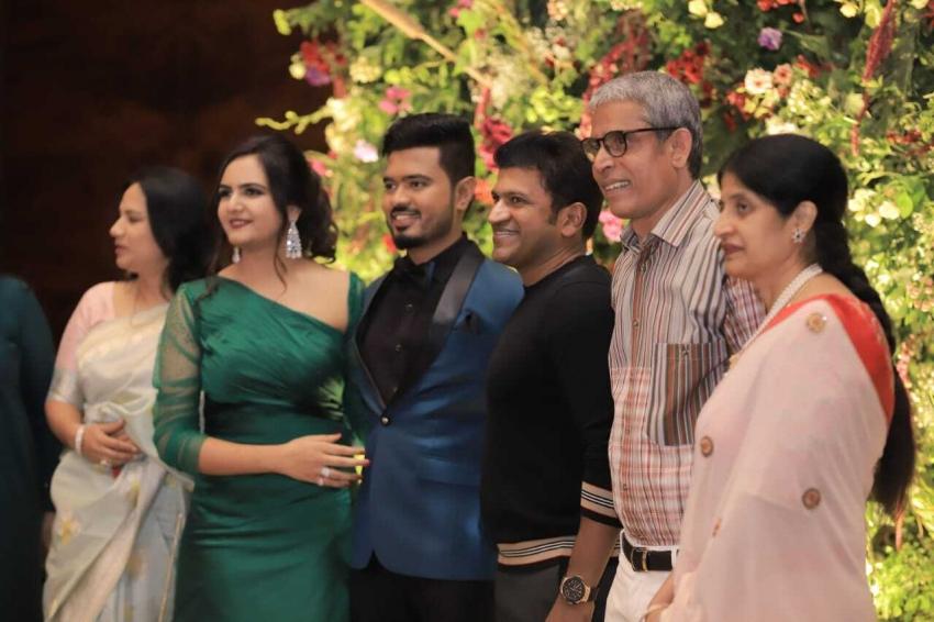 Ramesh Arvind Daughter Niharika  Wedding Reception Photos