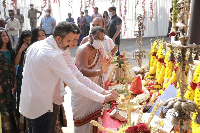 Salaar Movie Pooja & Launch Photos