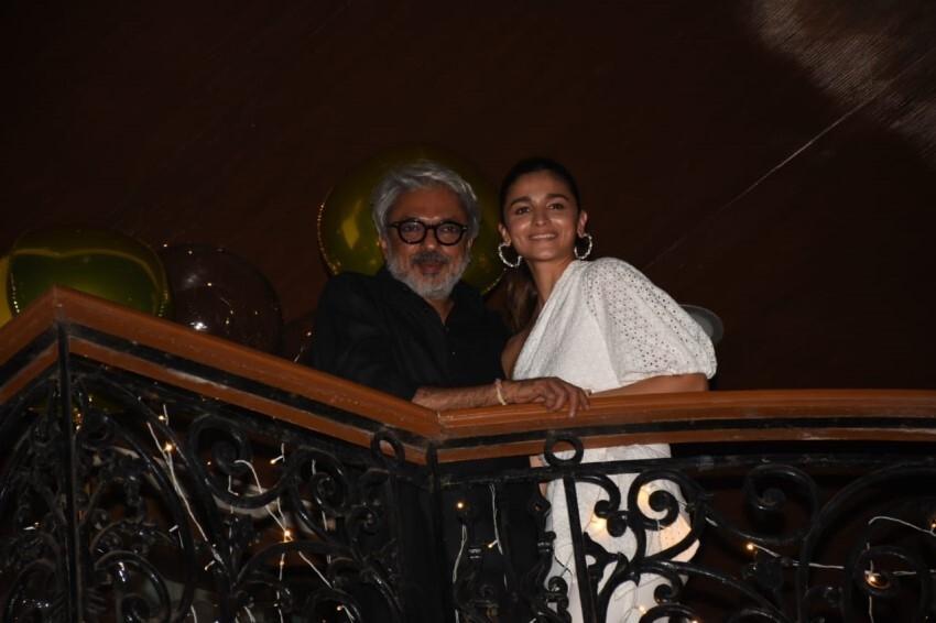 Celebs at Sanjay Leela Bhansali's Birthday Bash Photos