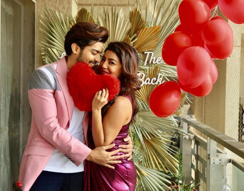 Gurmeet Choudhary and Debolina Banerjee celebrates Valentine's Day 2021 Photos