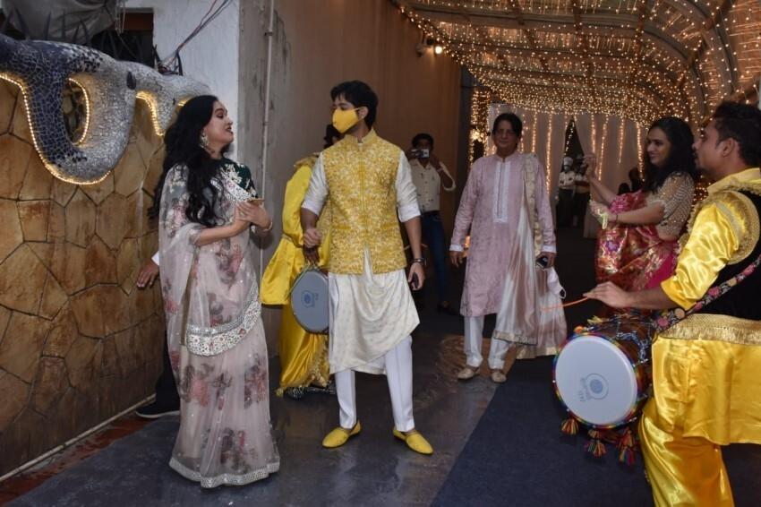 Priyaank Sharma and Shaza Morani's Pre-wedding Bash Photos