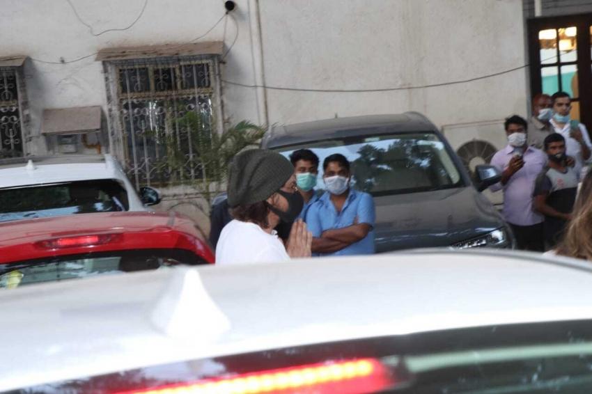 Rajiv Kapoor Passes Away Photos