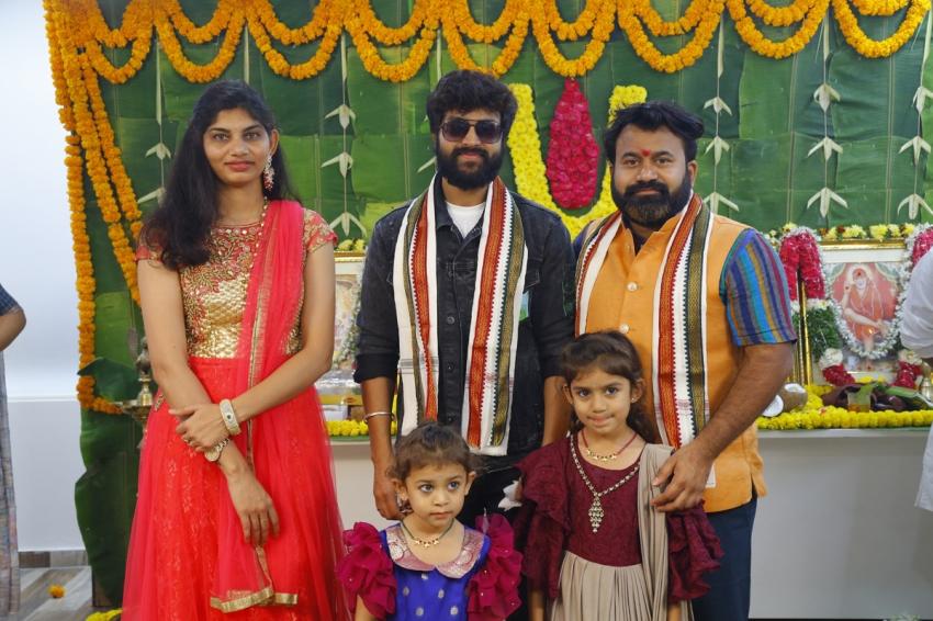 Bigg boss fame Sohel New Movie Pooja Photos