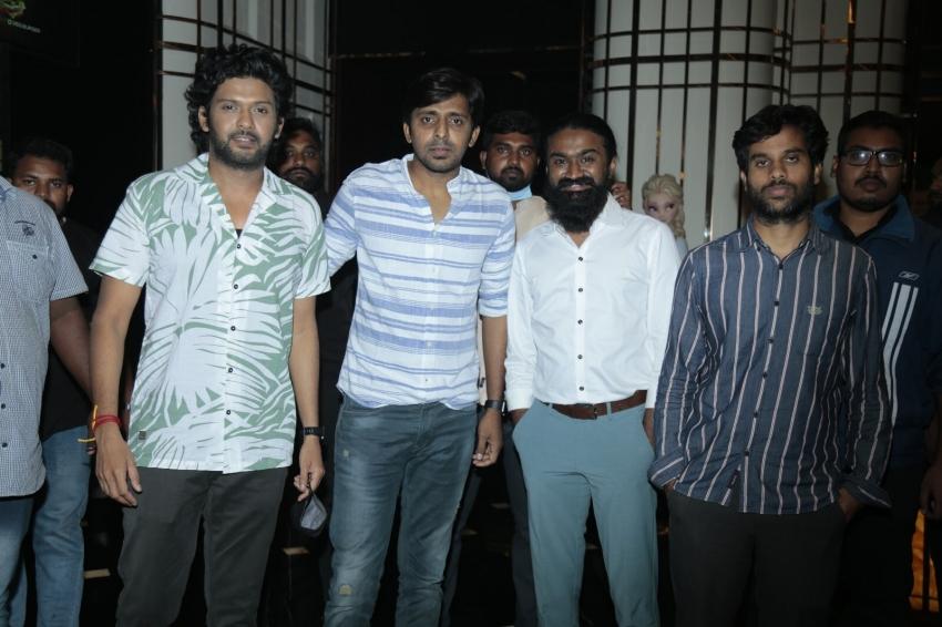 Jathiratnalu Movie Time Visit To AMB MAL Photos