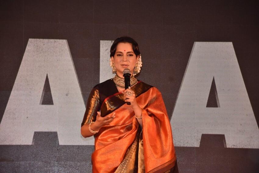 Kangana Ranaut & Others At The Trailer Launch Of Thalaivi Photos