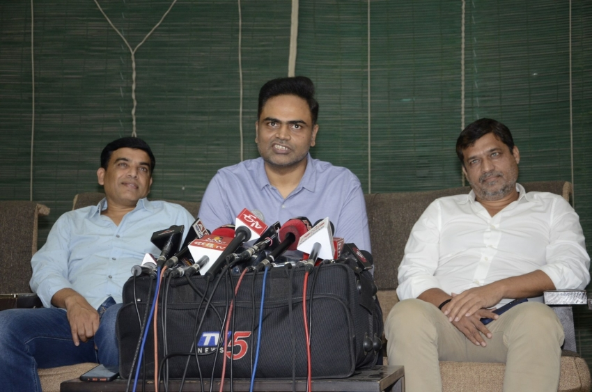 Maharshi National Award Press Meet Photos
