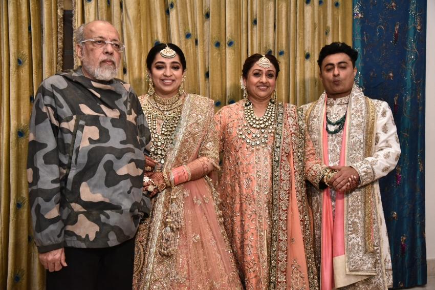 Nidhi Dutta ties knot with Binoy Gandhi in Jaipur Photos