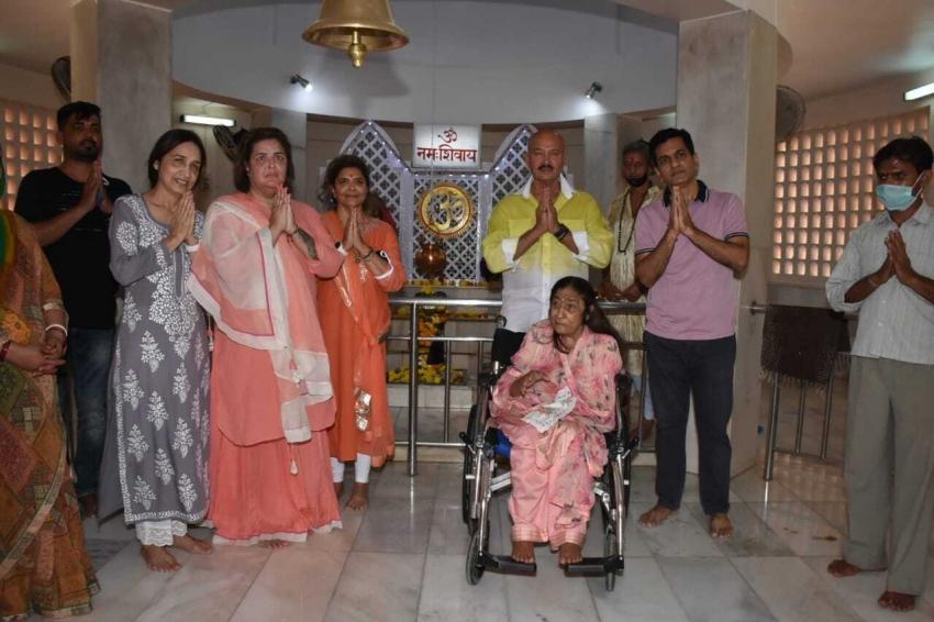Rakesh Roshan With Family at Shivaratri Pooja 2021 Photos
