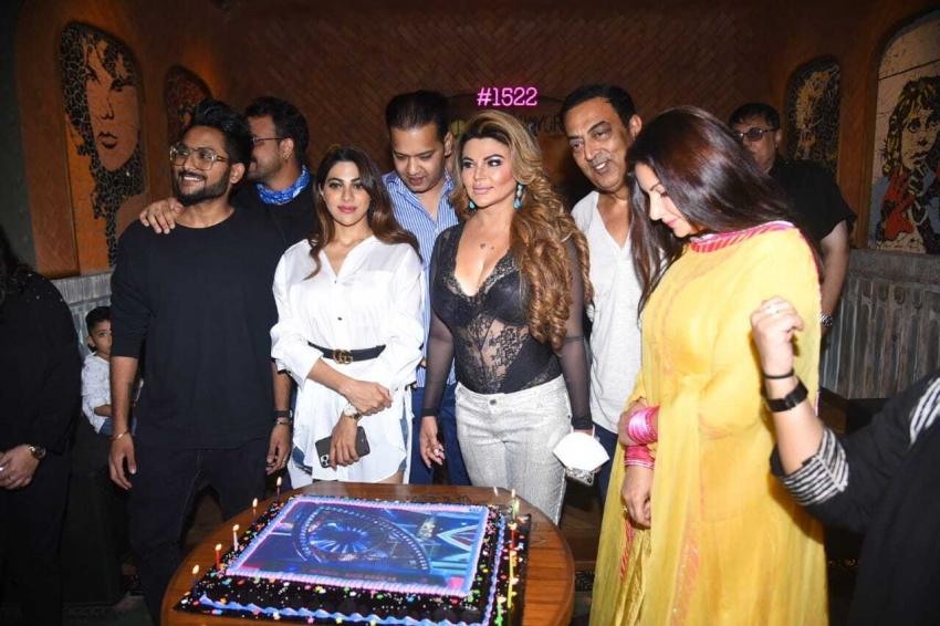 Rakhi sawant get together party after Bigg boss season 8 Photos
