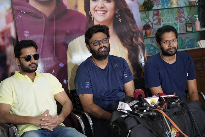 Rangde Movie Success Celebrations Photos