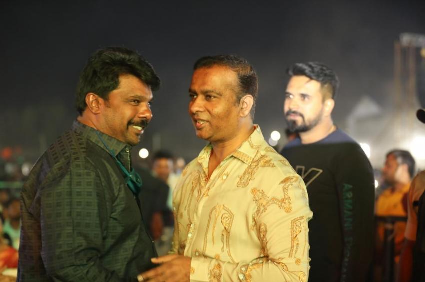 Roberrt kannada movie pre release event in Hubli Photos