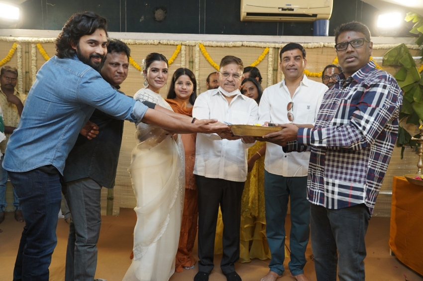 Shakunthalam Movie Opening Photos