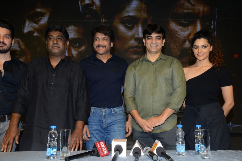 Wild Dog Movie Press meet Photos