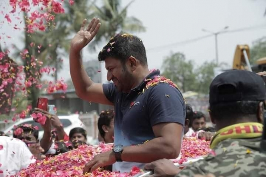 Yuvaratna Movie Promotion Across Karnataka Photos