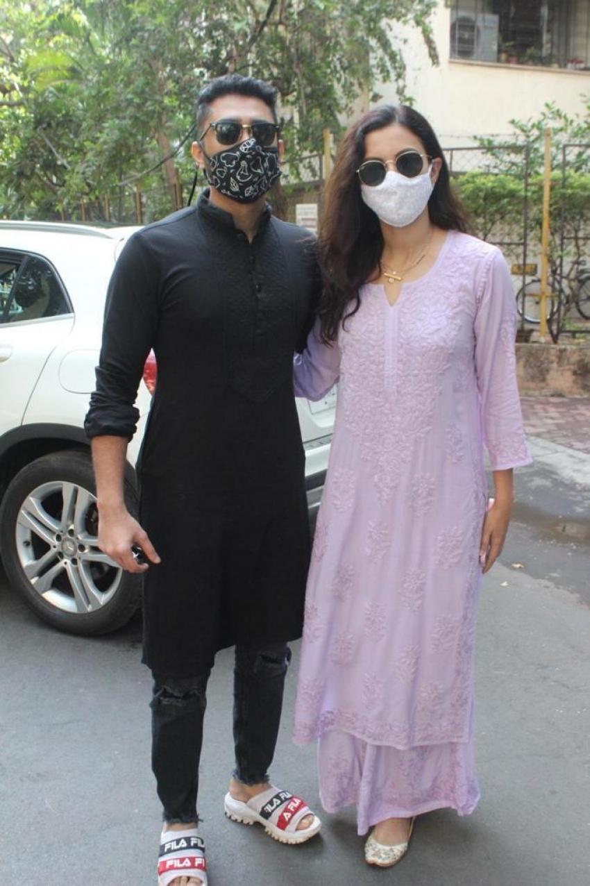 Gauhar Khan zaid darbar celebrating her first Ramadan post marriage Photos