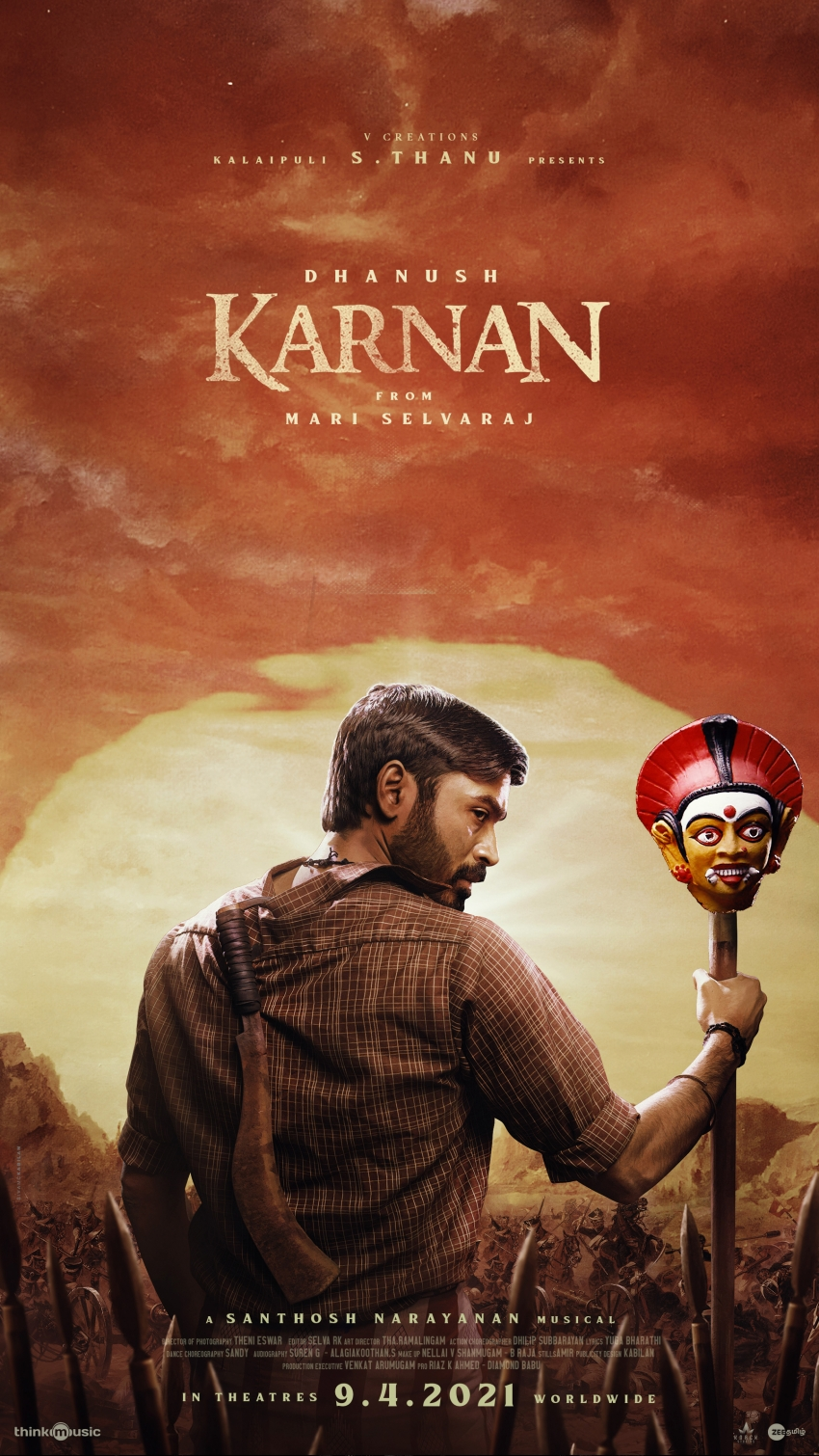 Karnan Movie posters Photos