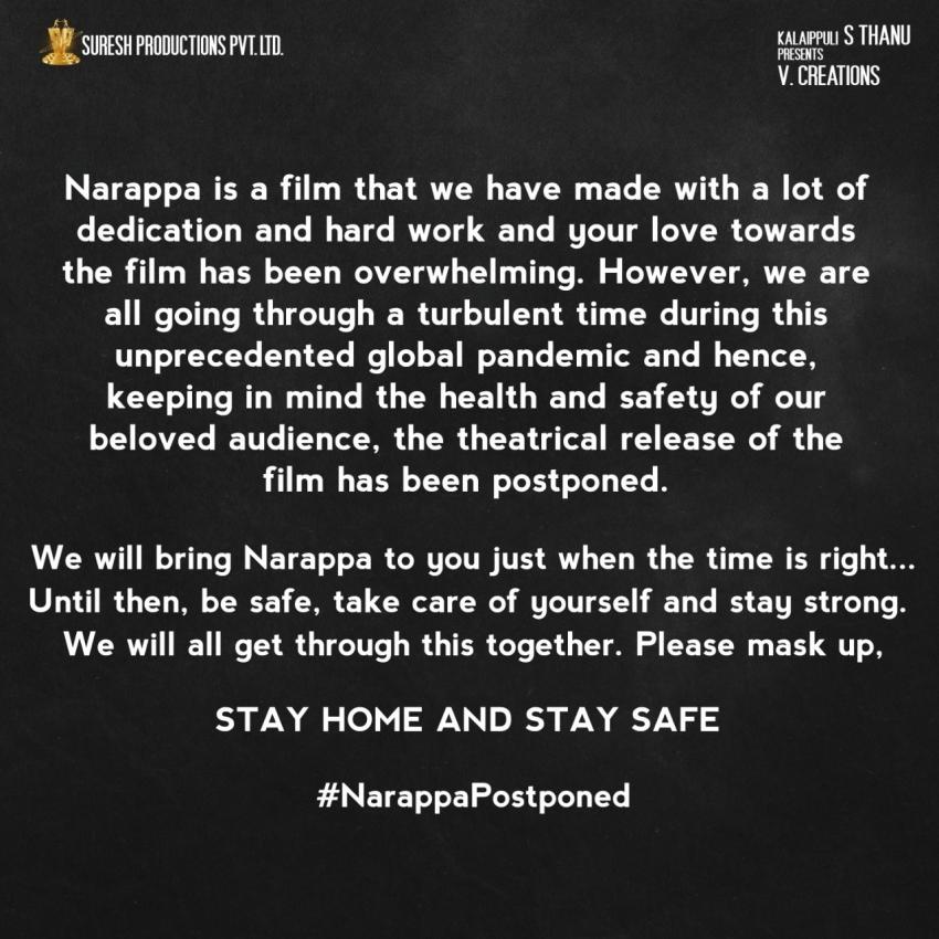 Narappa Photos