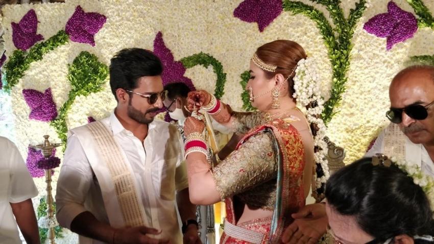 Vishnu vishal And Jwala Gutta Wedding Photos
