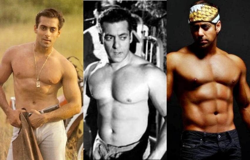 सलमान खान की शर्टलेस तस्वीरें