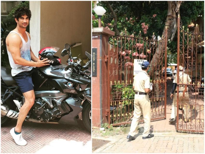 सुशांत सिंह राजपूत ने सजाया था मुंबई  में आलीशान घर, देखिए Inside Photo