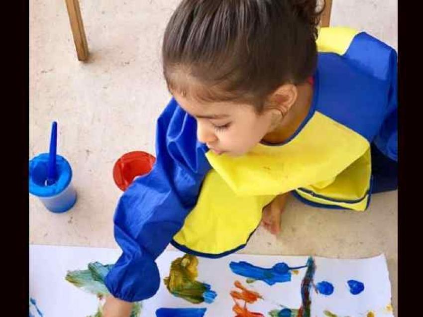 असिन की 3.5 साल की बेटी अरिन की क्यूट तस्वीरें