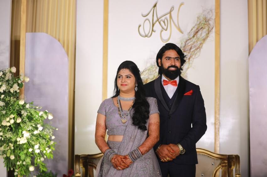 Ashish Gandhi Marries Nikitha Photos