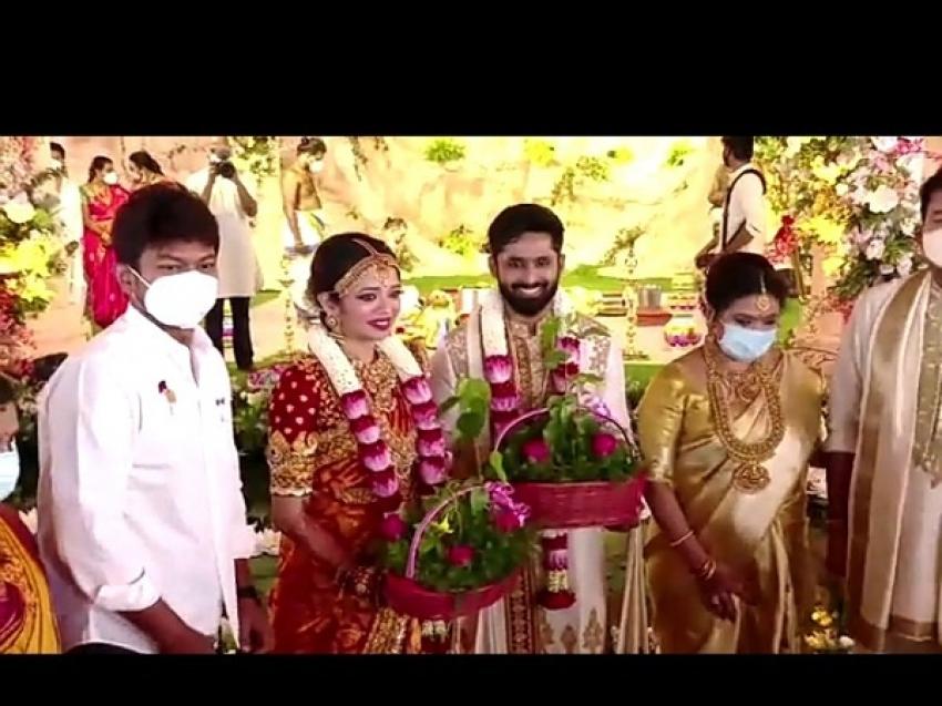 Director Shankar Daughter Aishwarya Wedding Photos