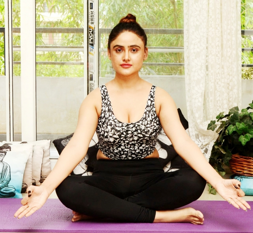 Indian Celebrities Who Practise Yoga Photos