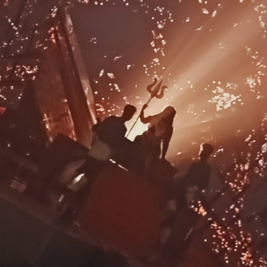 கையில் சூலத்துடன்.. காளி வேஷத்தில் ஆக்ரோஷமாக இருக்கும் வனிதா.. லேட்டஸ்ட் போட்டோஸ்!