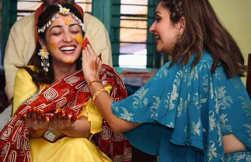 Yami Gautam And Aditya Dhar Wedding Photos