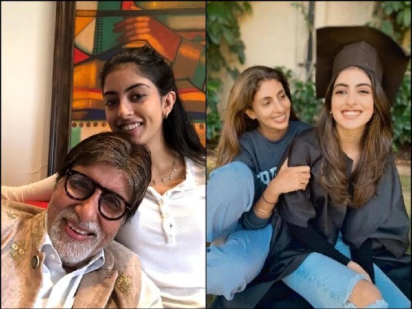 अमिताभ बच्चन की नातिन नव्या नवेली नंदा की बेहद ग्लैमरस Photo