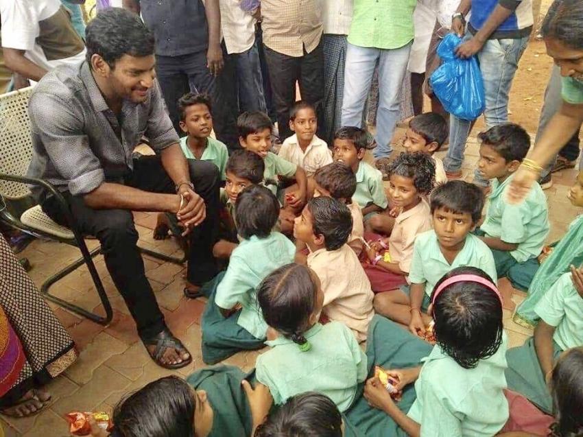நானும் மதுரைக்காரன்தாண்ட....  விஷாலின் எனிமி  ஷூட்டிங்.. ஹைதராபாத்தில் இறுதிக் கட்டம்!