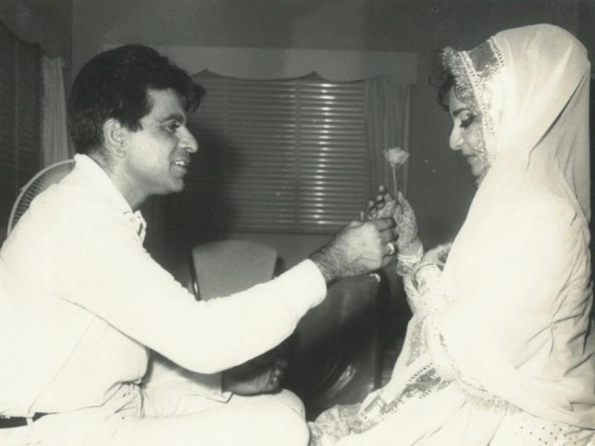 दिलीप कुमार- सायरा बानो के बीच दिखती है बेहद मोहब्बत, Rare फोटो