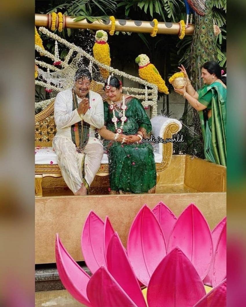 సాయి కుమార్ షష్టి పూర్తి ఫొటోలు.. ముఖ్య అతిధులుగా వెంకీ, చిరు, రాజశేఖర్