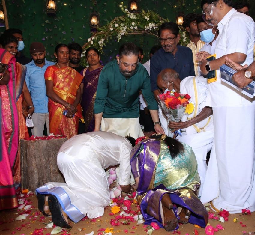 பாடலாசிரியர் சினேகனுக்கும் - நடிகை கன்னிகாவுக்கும் டும் டும் டும்.. கமல் வாழ்த்து!