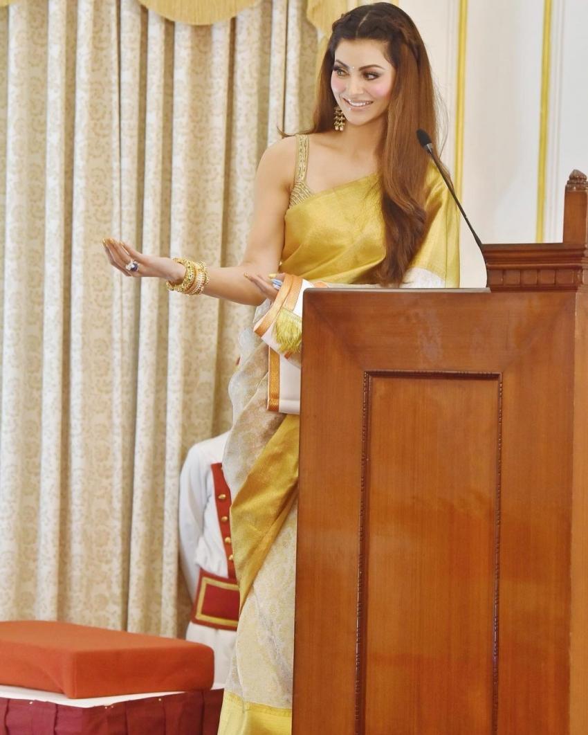 ദേശീയ  പുരസ്കാരം ഏറ്റ് വാങ്ങി നടി ഉർവശി റട്ടേല, ചടങ്ങിനിടയിൽ നിന്നുള്ള ഫോട്ടോസ് കാണാം