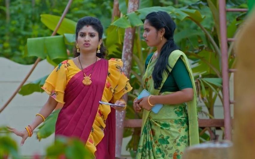 Janaki Kalaganaledu Today Promo 96th episode: మల్లికకు కఠినమైన శిక్ష వేసిన జ్ఞానాంబ.. సీన్లోకి జానకి ఎంట్రీ